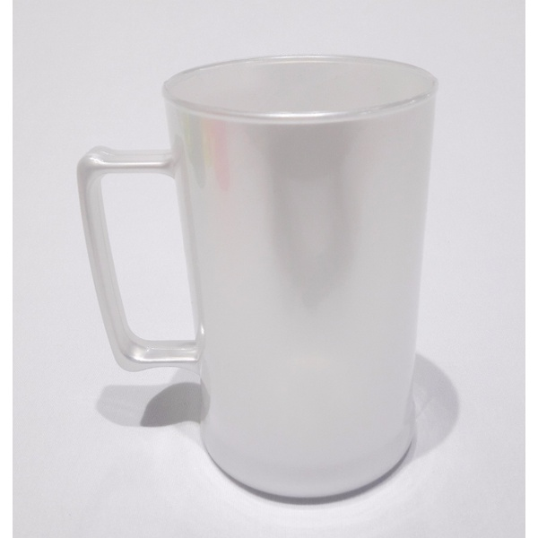 Caneca Chopp Branco Perola- Caixa com 50 unidades