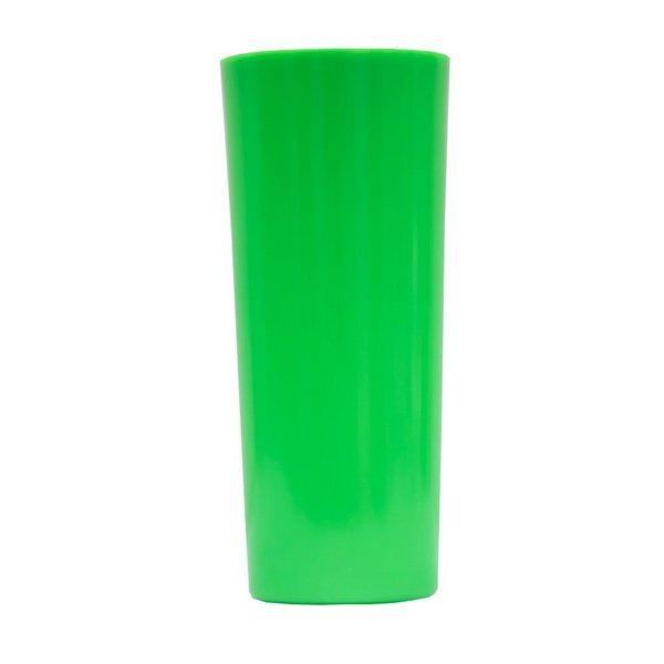 Copo Long Drink Verde - Caixa com 100 unidades