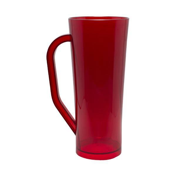 Caneca Long vermelho- Caixa com 50 unidades