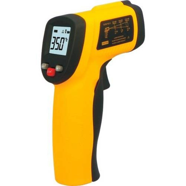 Termômetro LASER Sensor Medidor Temperatura Digital