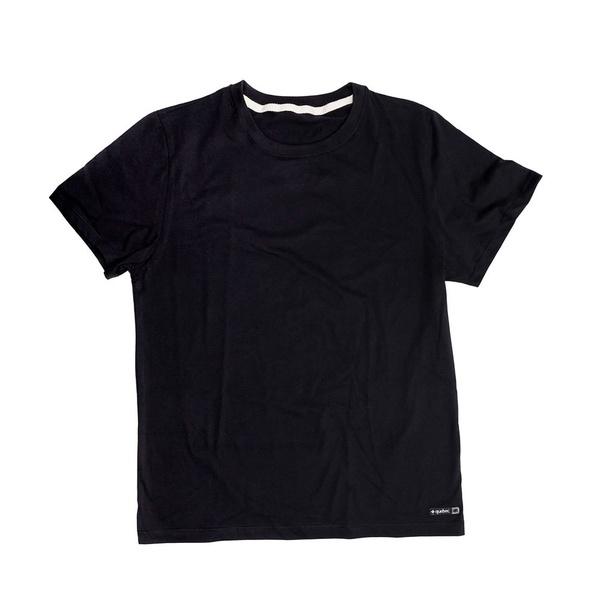 Camiseta Masculina Quebec Básica Comfort Preta