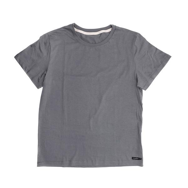 Camiseta Masculina Quebec Básica Comfort Cinza