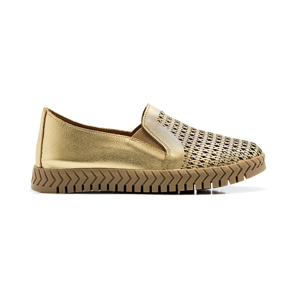 Slip On Feminino Quebec Gold Bless