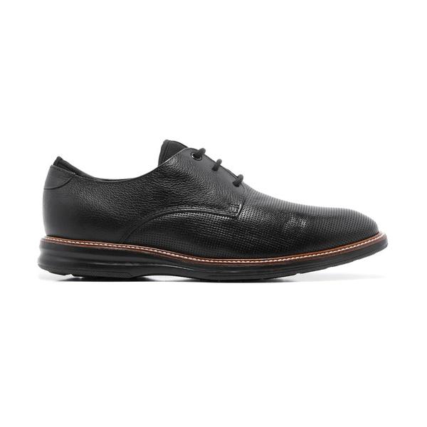Sapato Masculino Casual Quebec Lecce Preto em Couro