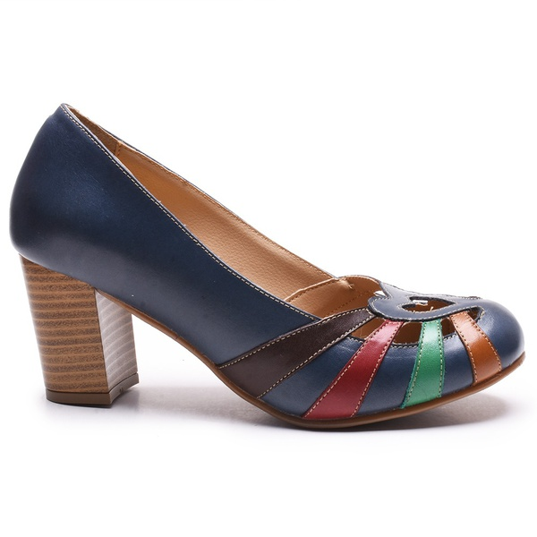 Sapato Feminino Quebec Retrô Munique