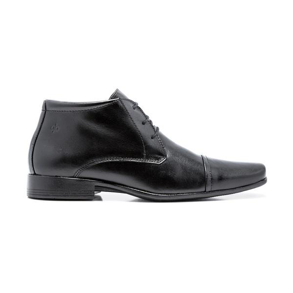 Bota Sapato Social Quebec Sloan Preto