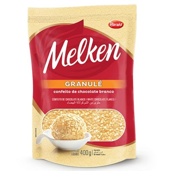 Granulé de Chocolate Branco Melken 400g