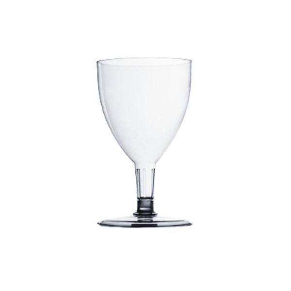 Taça de Vinho 170ml Transparente c/5 und - Plastilânia PIT170