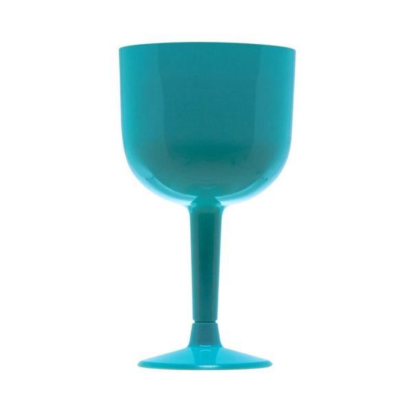 Taça de Gin c/4 und 500ml Azul Tiffany
