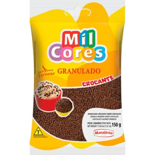 Granulado 150g Chocolate Crocante Mavalério