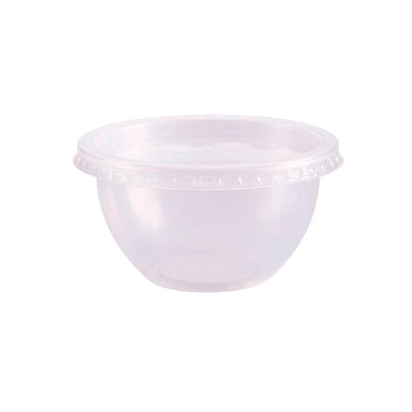 Pote Bowl com Tampa 250ml c/20und Freezer e Micro-ondas Prafesta