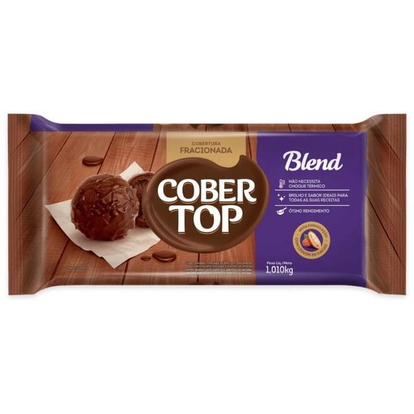 Chocolate Fracionado Cobertop Blend 1,01kg em Barra