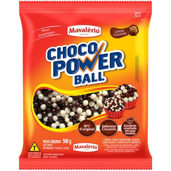 Choco Power Ball Mini 500g Mavalério