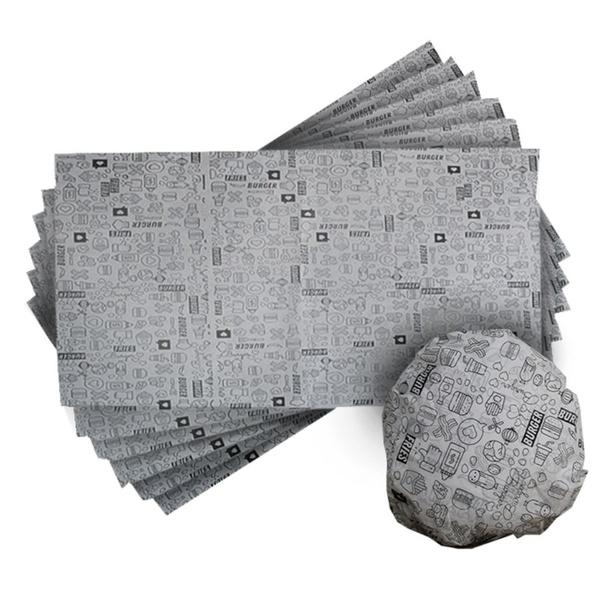 Papel Acoplado para Lanche 36x45cm c/500 und Com Película