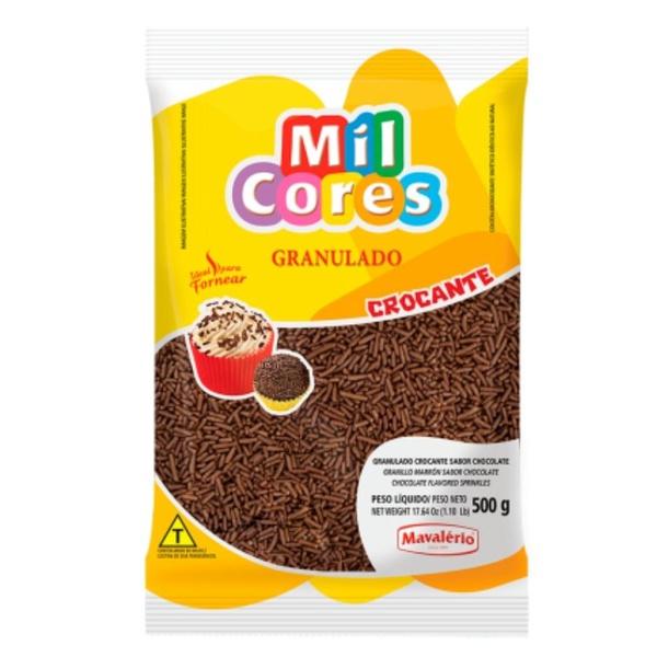 Granulado 500g Chocolate Crocante Mavalério