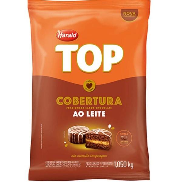 Chocolate Fracionado Top Ao Leite 1,050kg Harald