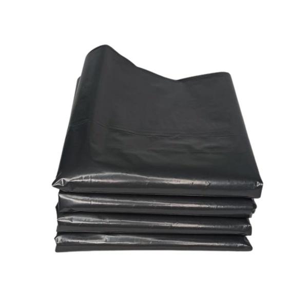 Saco para Lixo Preto Reforçado 40 Litros com 12 und