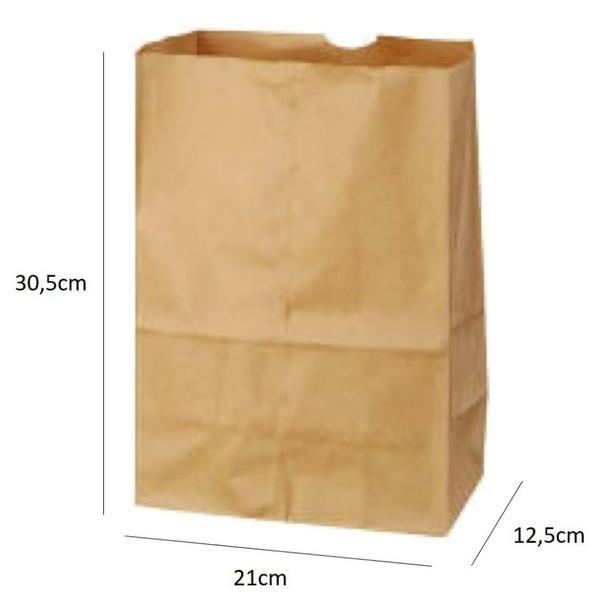 Saco SOS G (4kg) Liso c/50und 21x30,5x12,5cm
