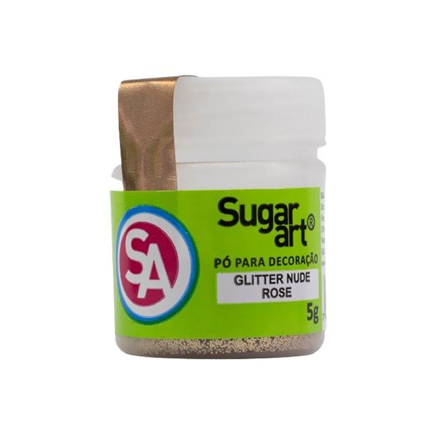Glitter Nude Rose 5g Sugar Art