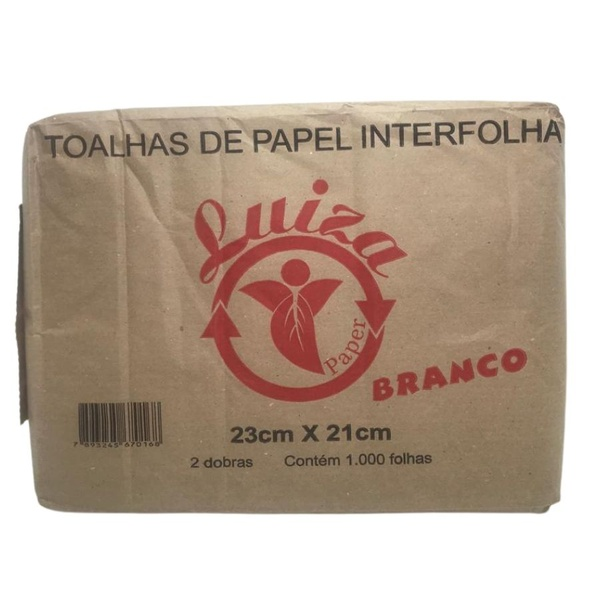 Papel Interfolha Qualipel 20x22,5cm c/1000 folhas