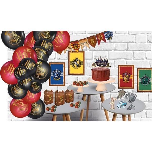 Kit Só Um Bolinho Harry Potter 89 peças Festcolor loja embalagens sabrina