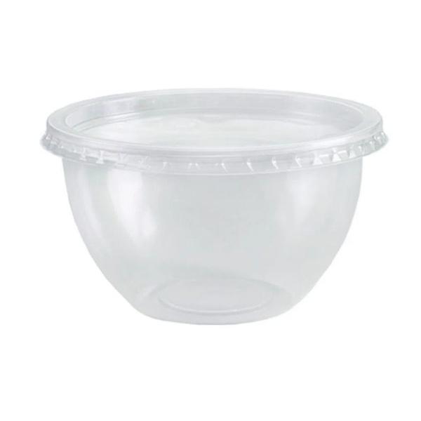 Pote Bowl com Tampa 500ml c/20und Freezer e Micro-ondas Prafesta