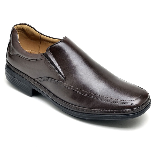 Sapato Super Leve Sapatoterapia Dark Brown Captiva