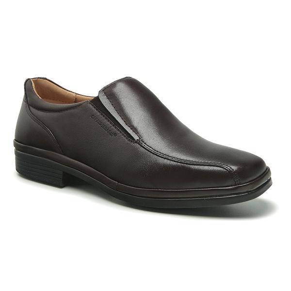 Sapato Social Masculino Amortecedor Dark Brown Sapatoterapia New York