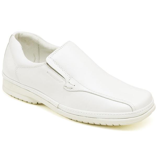 Sapato Social Branco Sapatoterapia Tamanho Especial Tradicional