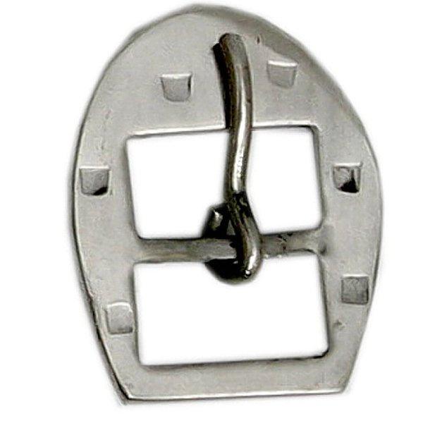 Fivela Ferradura para Travessão 44 mm Inox