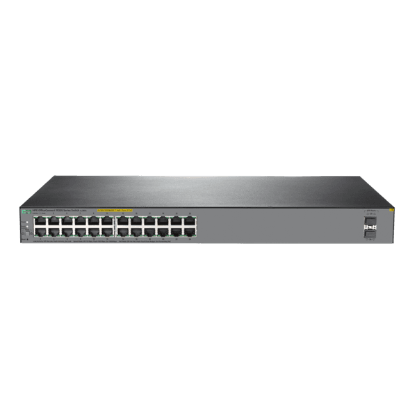 Switch 24 portas 10/100/1000 + 2p sfp hpe officeconnect 1920s 24g poe 370w