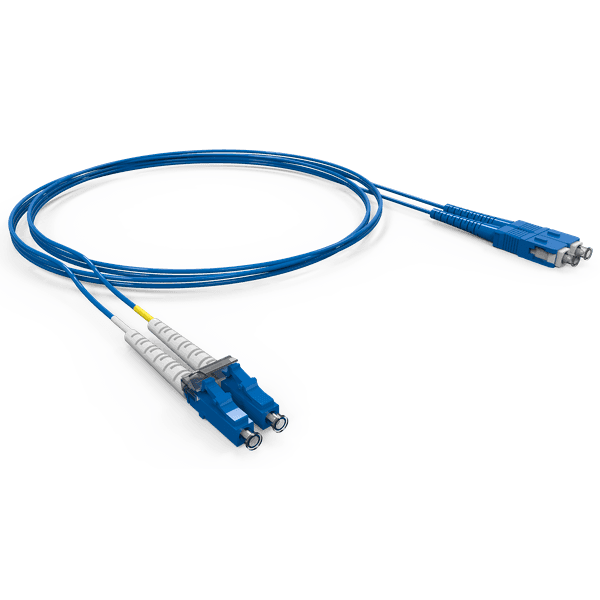 Cordao duplex conectorizado om3 sc-upc/sc-upc 10.0m - cog - acqua