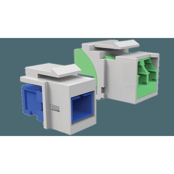 Conjunto adaptador sc mm - cinza