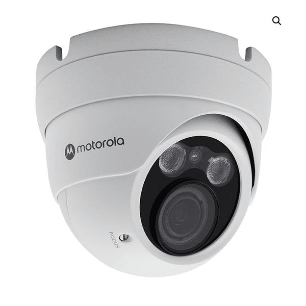 Camera ip dome metal 5mp, varifocal motor. lens 3.3 -12mm