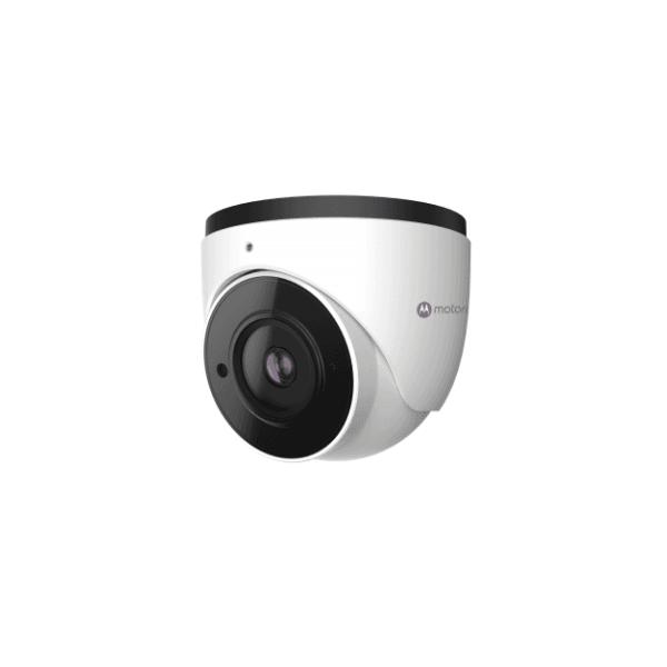 Camera ip dome metal 5mp, h.265, 7 analytics, ik10, facil recon