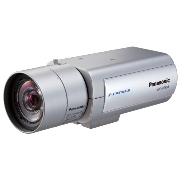 Camera color profissional ip megapixel wv-sp305p