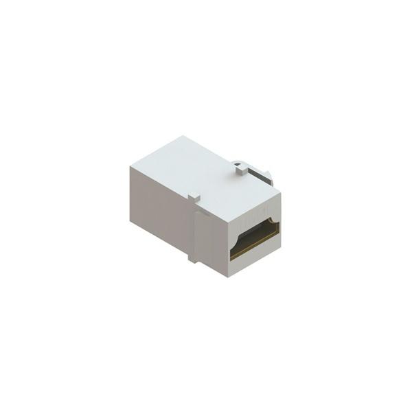 CONECTOR HDMI F/F V1.3 EMENDA KEYSTONE - BRANCO