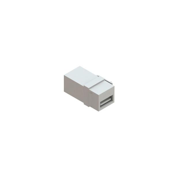 CONECTOR USB TIPO EMENDA P/KEY (FXF) - BRANCO
