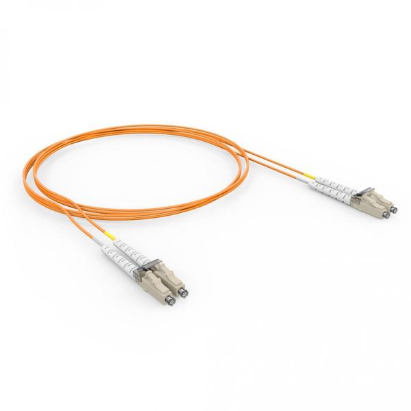 CORDAO DUPLEX CONECTORIZADO 62.5 MT-RJ/ST-SPC 2.5M - COG - LARANJA