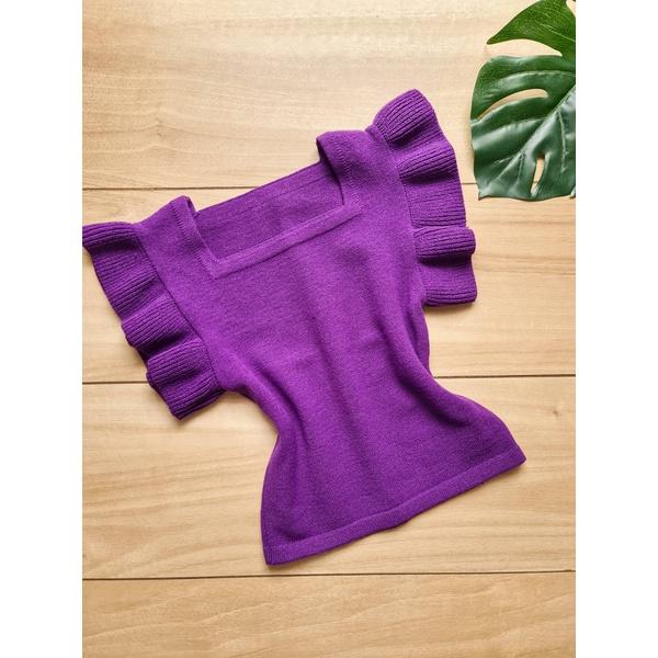 Blusa em tricot Marília - Roxa