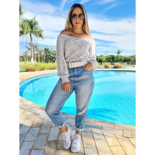 Calça Jeans Carmem - Mom Jeans Clara