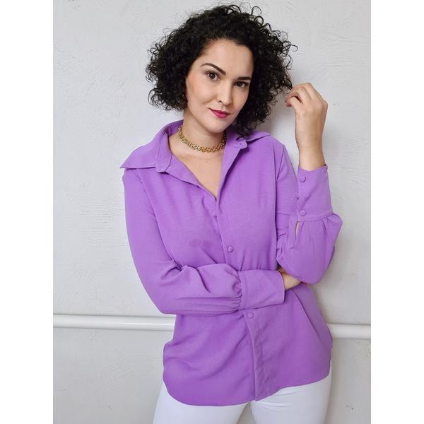 Camisa Rafa - Lilás