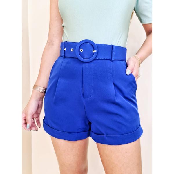 Short Rebeca - Azul Bic