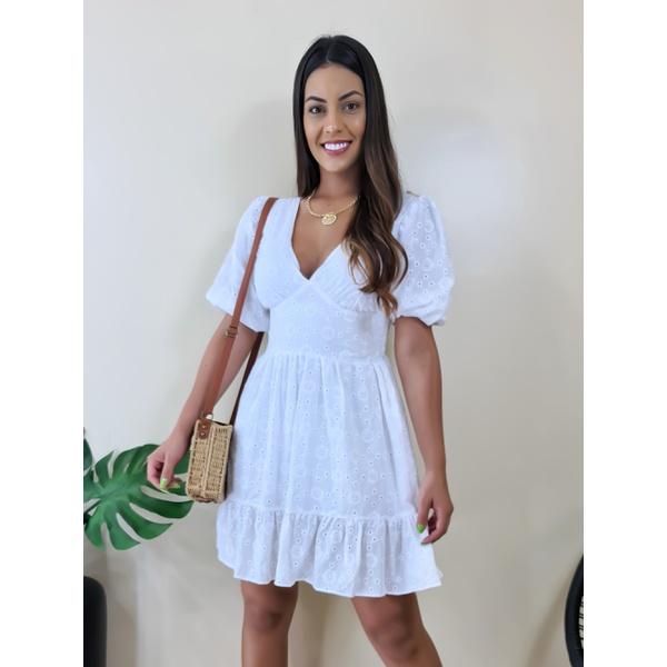 Vestido Drika - Branco