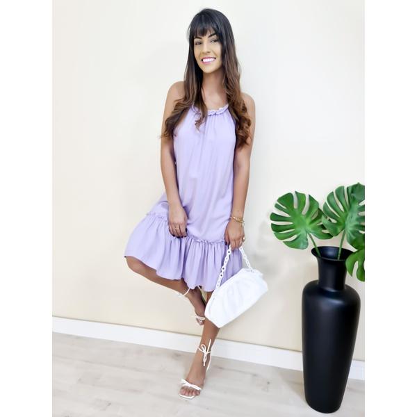 Vestido Heloisa - Lilás
