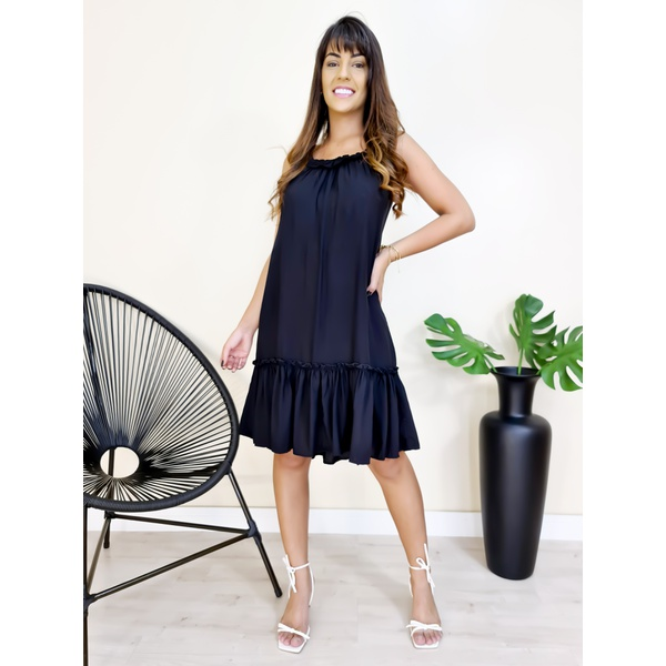 Vestido Heloisa - Preto