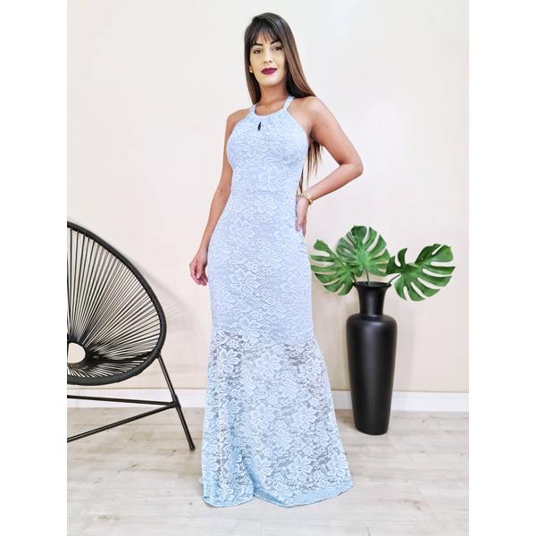 Vestido Hanna - Azul Bebe
