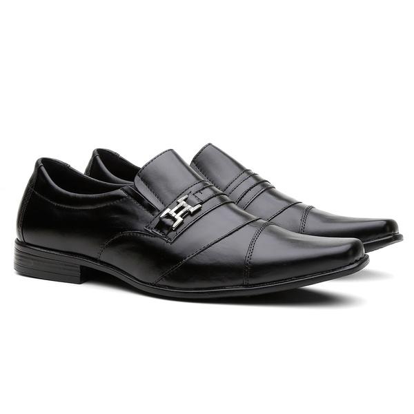 Sapato Social Masculino em Couro Legitimo R170PT