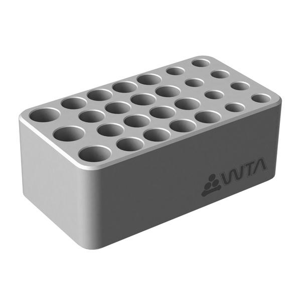 Rack de Alumínio 3x15mL | 16x1,2mL | 8x1,5mL Eppendorf