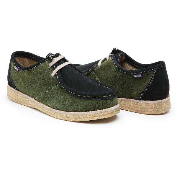 Sapato London Verde e Preto